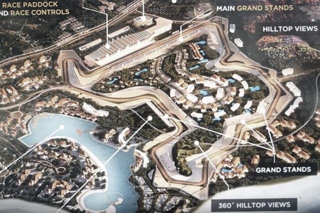 El nuevo circuito Mandalika estará listo en 2021