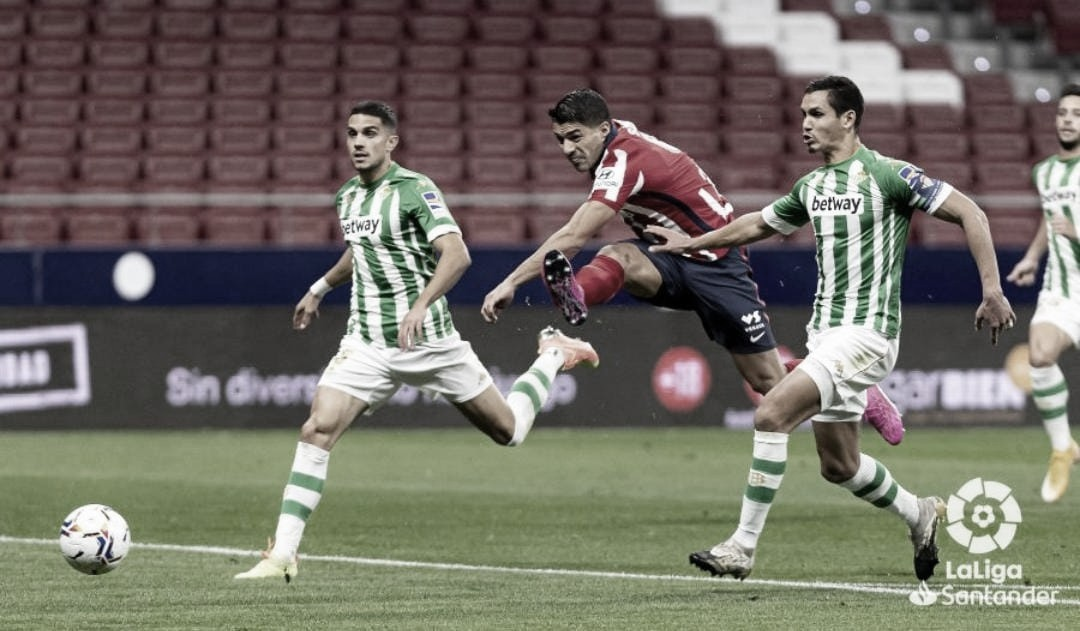 Mandi y Batra ante el Atlético de Madrid ! Foto: LaLiga Santander