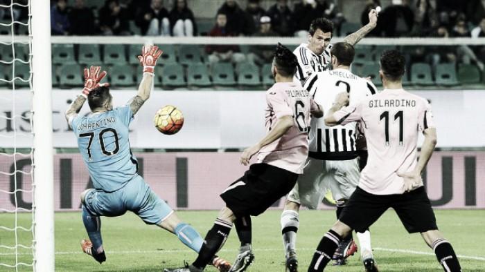 Risultato Juventus 4-0 Palermo in Serie A 2016