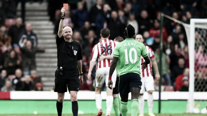 Mane has Stoke red card overturned