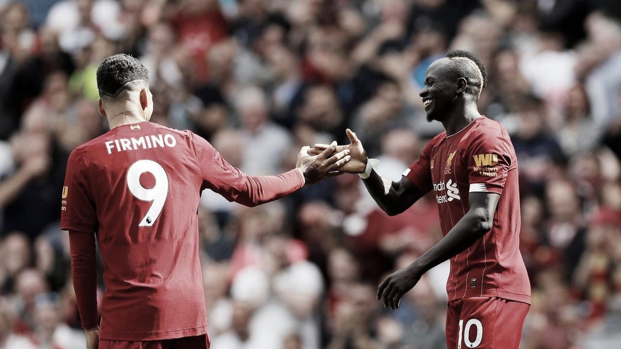 El tridente saca de un apuro al Liverpool