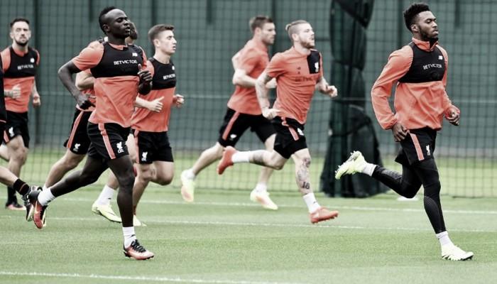 Sadio Mane and Daniel Sturridge among the internationals back in Liverpool training
