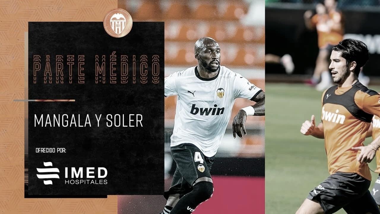 Problemas para Gracia: Soler y Mangala, lesionados.