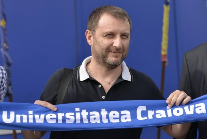 """Europa League - Craiova, Mangia: """"Evento per noi e la città. Milan forte, ma ce la metteremo tutta"""""""