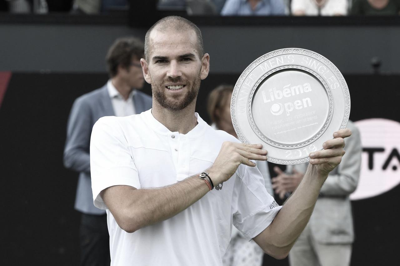 Mannarino vence Thompson em 's-Hertogenbosch e conquista primeiro título em sete finais