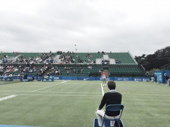 ATP Nottingham: Adrian Mannarino fires his way past Taylor Fritz