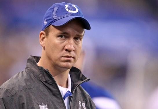 I Colts tagliano Peyton Manning