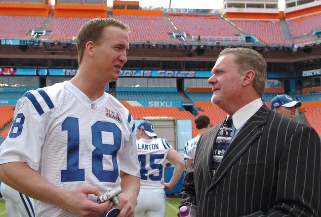 Irsay pronostica otro Manning- Leaf entre Luck y Griffin III