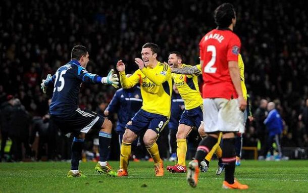 Capital One Cup: Sunderland in finale, Manchester United ko ai rigori
