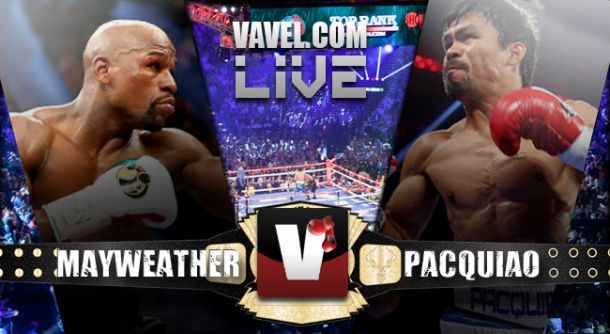 Winner Mayweather - Pacquiao Live Boxing Fight Results 2015