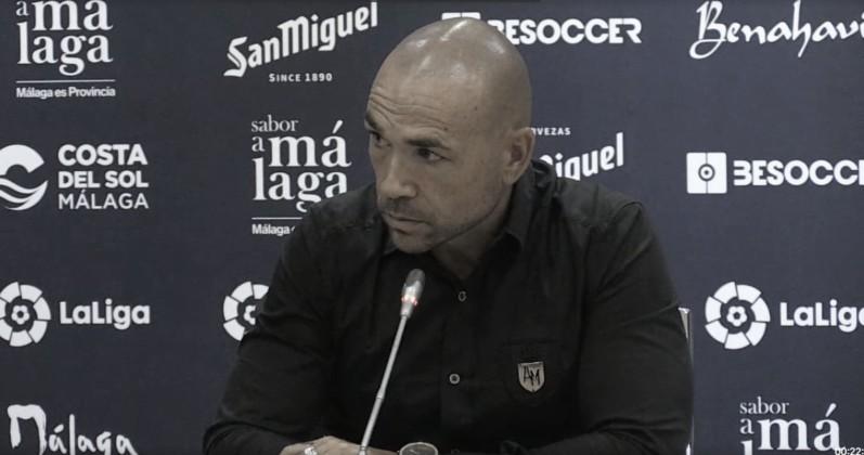 La rueda de prensa de las presentaciones de Antoñín, Víctor Gómez, Gassama