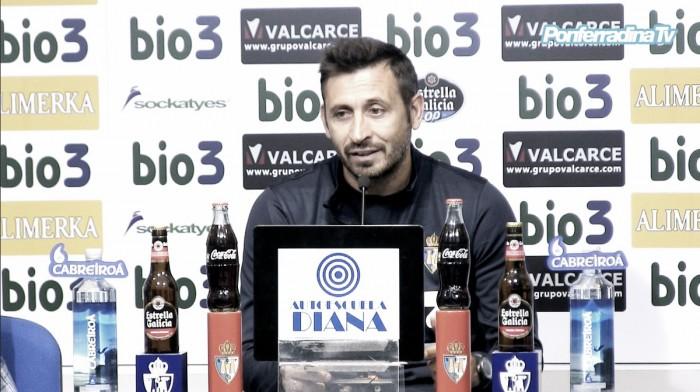 """Manolo Herrero: """"Si los resultados son buenos el fútbol llega solo"""""""
