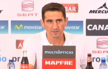 """Manolo Jiménez: """"Estamos muy verdes, y lo pagamos"""""""