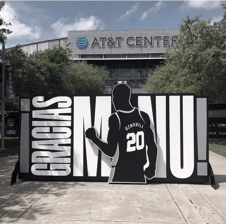 Spurs inmortalizan a Ginóbili
