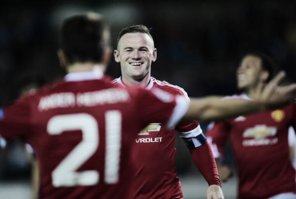 Il Bruges si inchina a Rooney: è poker del Manchester United