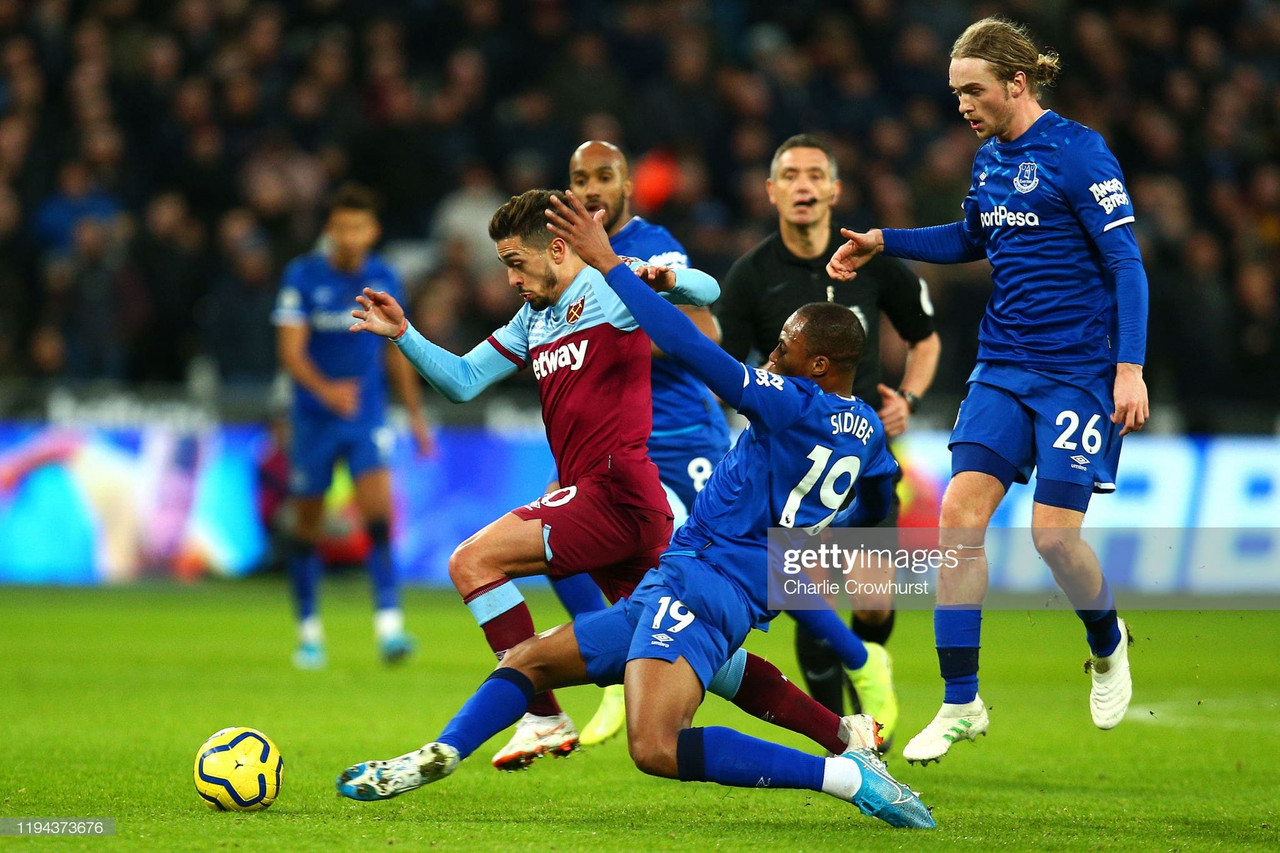 West Ham United 1-1 Everton: Points shared in uninspring draw