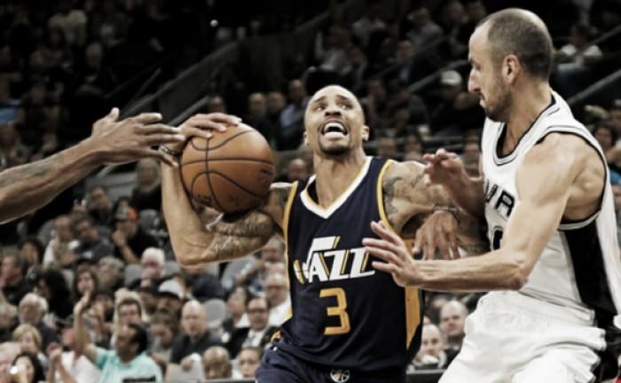 Utah Jazz le quitó el invicto a San Antonio