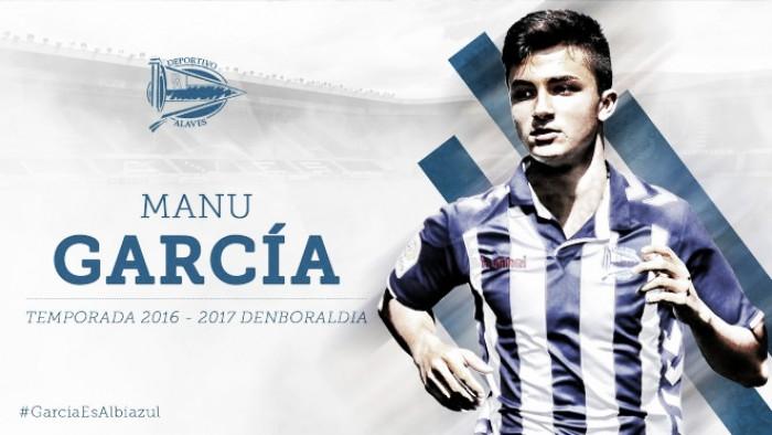 Alavés anuncia contratação de jovem meia Manu García, ex-Manchester City