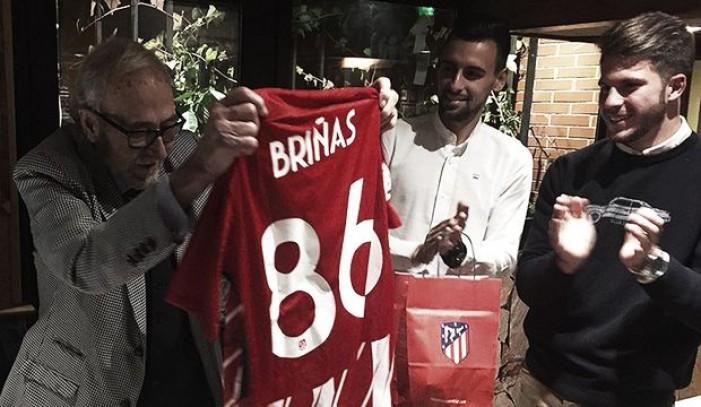 Manuel Briñas, homenajeado por la Academia