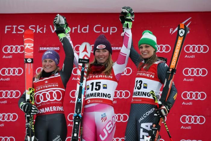 Slalom Semmering: Shiffrin vince ancora ed eguaglia record di Schneider