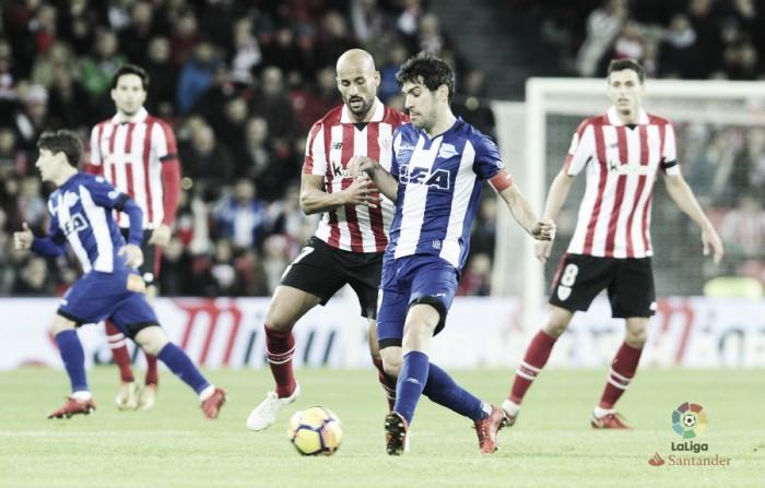 Athletic Club - Deportivo Alavés: puntuaciones del Alavés, jornada 18 de La Liga