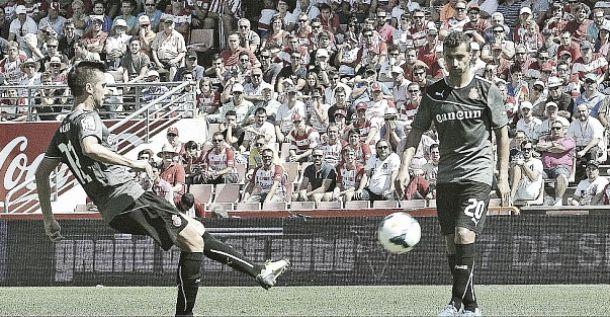 """Lanzarote: """"Cuando vi salir el balón sabía que iba a ser gol"""""""