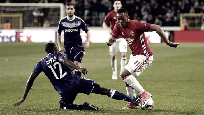 Manchester United-Anderlecht in Europa League 2016/17 (2-1): RASHFORD AL SECONDO SUPPLEMENTARE!