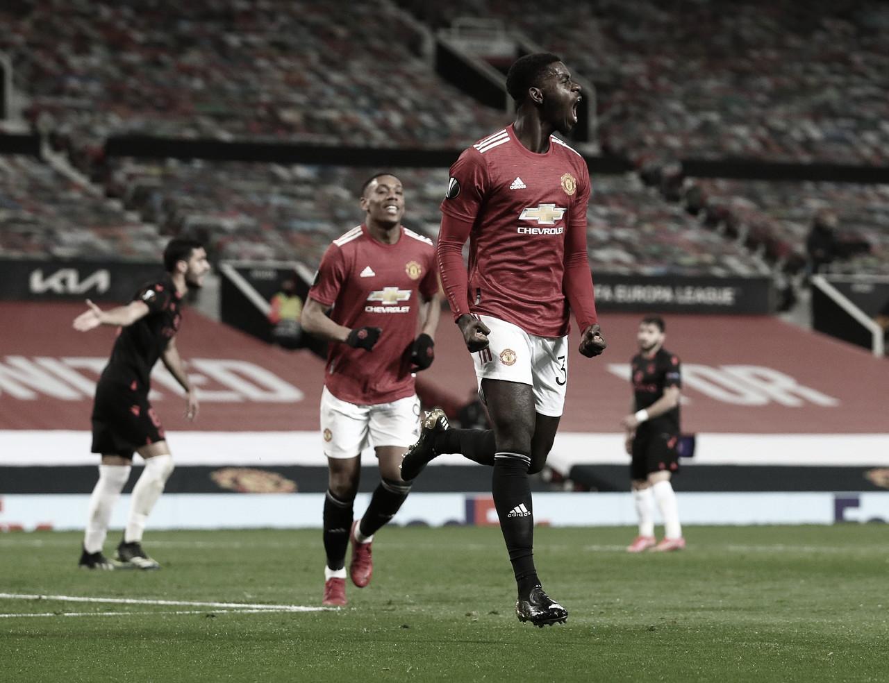 Manchester United empata sem gols com Real Sociedad e avança às oitavas da Europa League