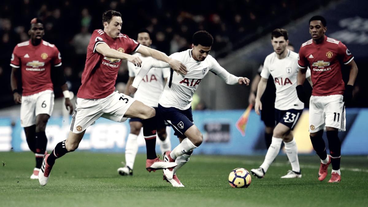 Manchester United y Tottenham jugarán la International Champions Cup