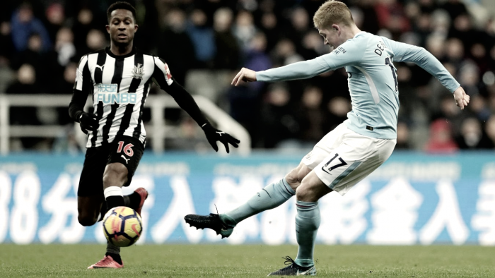 Resumen del Manchester City 3-1 Newcastle en Premier League 2018