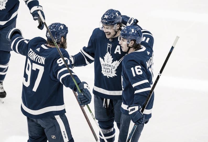 Los Toronto Maple Leafs tienen la mejor marca en la NHL