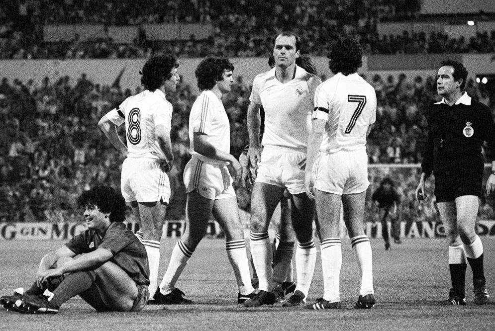 Serial Clásicos Real Madrid - FC Barcelona en Copa: 1982/83 – La final del vuelo del Pichón