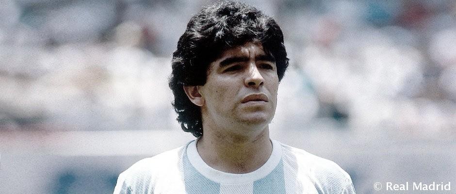 El Real Madrid CF lamenta el fallecimiento de Maradona