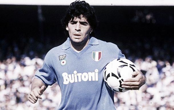 Maradona y su paso por Europa