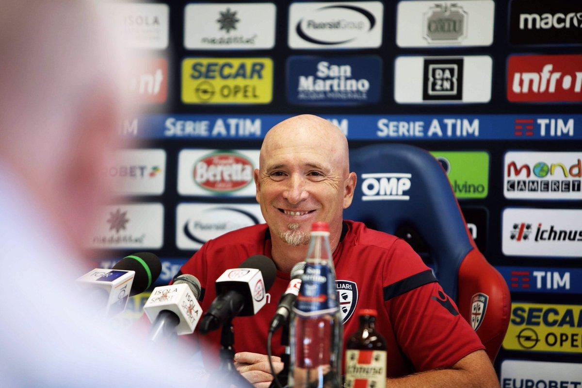 """Cagliari, Maran: """"L'Inter ha individualità ma dobbiamo concentrarci. Srna straordinario"""""""