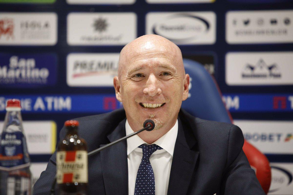 """Cagliari - Maran: """"La Roma ha un tasso tecnico elevato, voglio una gara di corsa e sacrificio"""""""