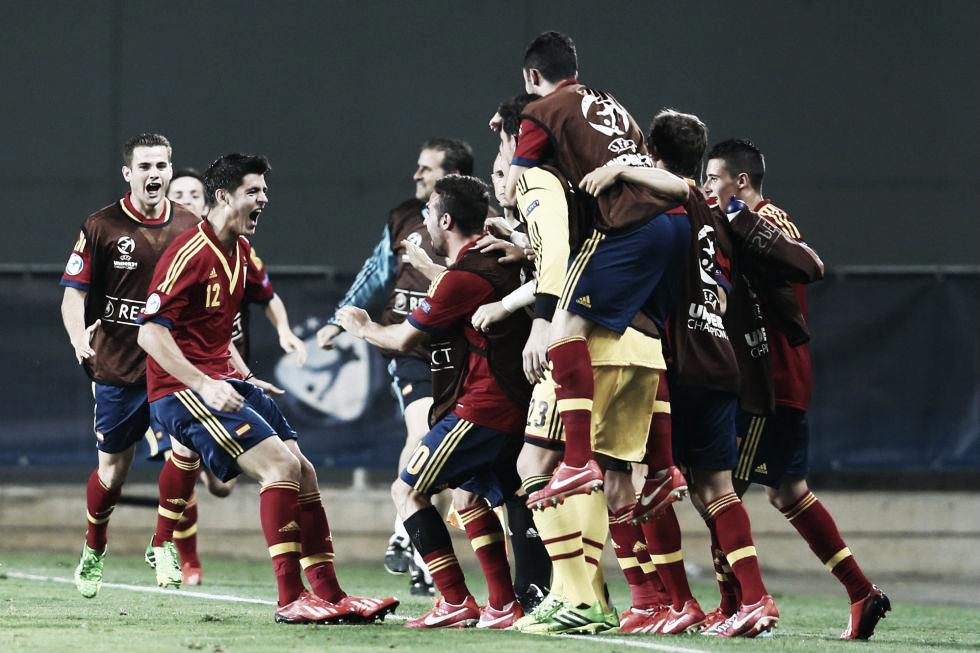 L'Espagne surclasse l'Allemagne