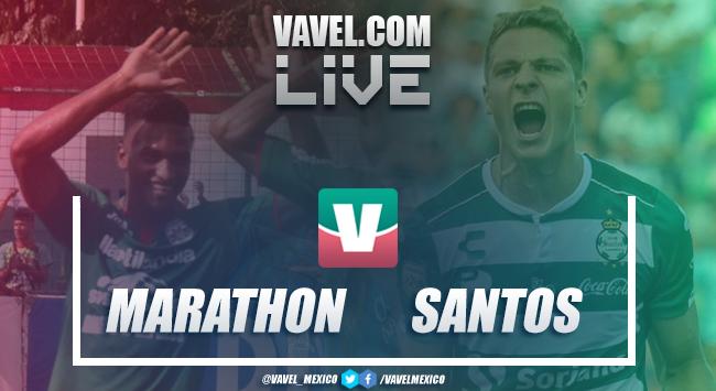 Resultado Marathón 2-6 Santos Laguna en Concachampions 2019