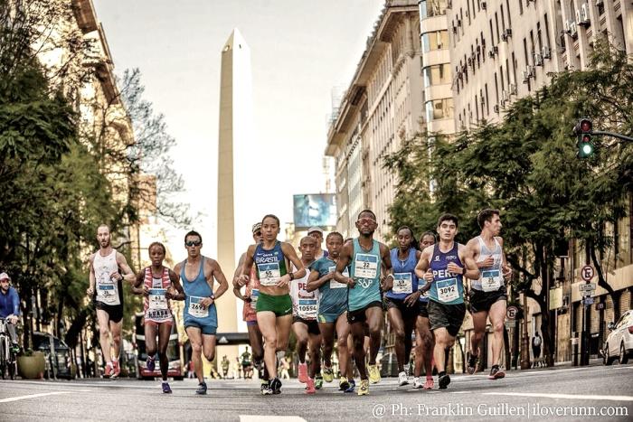 Histórica Maratón de Buenos Aires