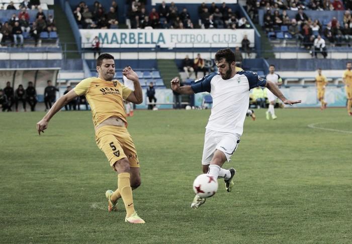 Tres puntos de oro para el UCAM Murcia