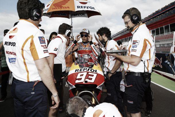 """Marc Márquez: """"Rossi es mi ídolo y mi referente, Valentino es mucho Valentino"""""""