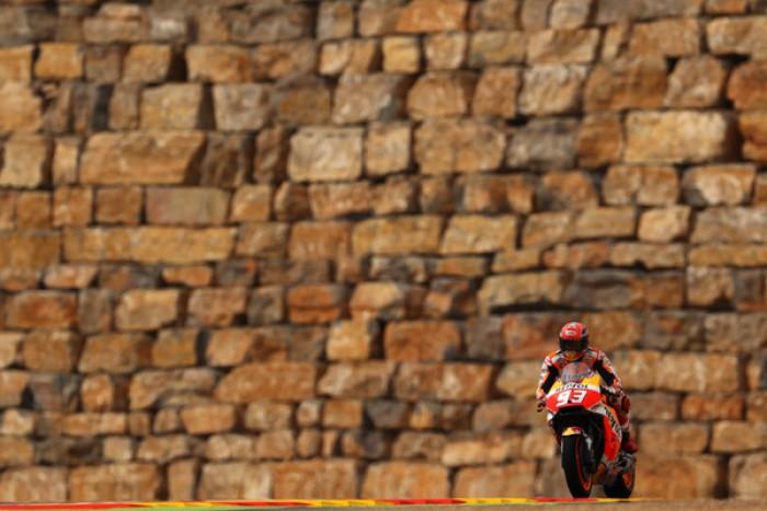 Aragon: vince Marquez, ma Rossi non molla e arriva quinto