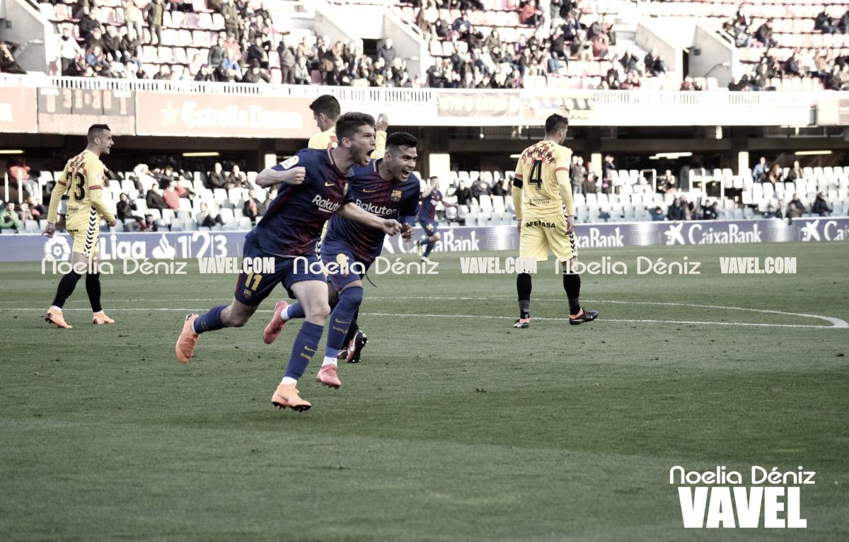 Resumen de la temporada 2017/2018: FC Barcelona B, la delantera