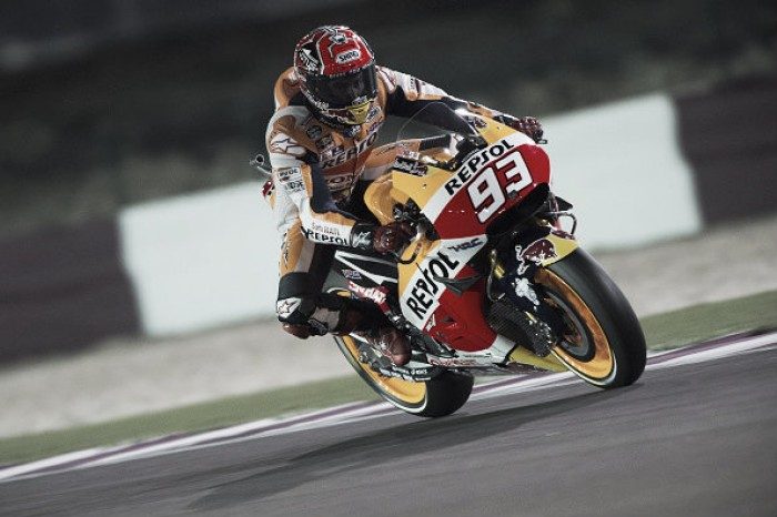 Marquez and Pedrosa place better than expected at season opener in Qatar
