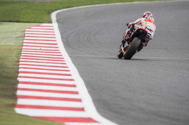 Silverstone, Márquez in testa anche nella terza sessione di libere