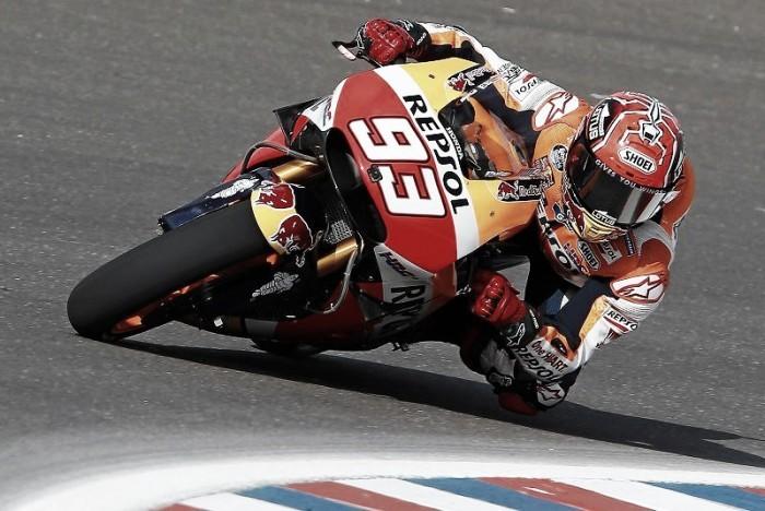 Marc Marquez claims MotoGP win in Argentina