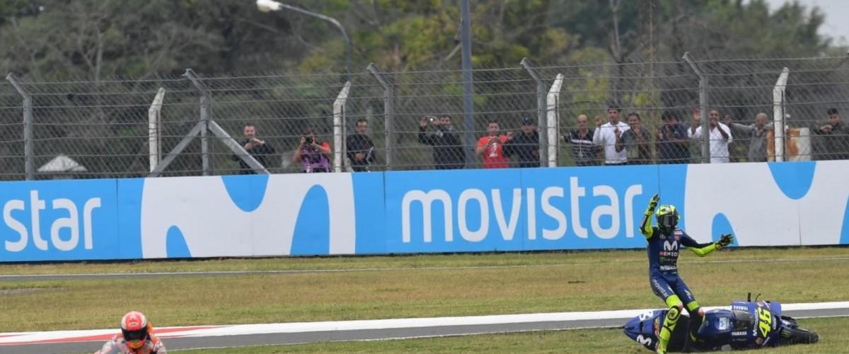 MotoGP, Argentina GP - Marquez vs Rossi: ora è guerra anche tra i team
