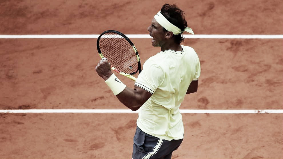 Nadal liquidó a Federer