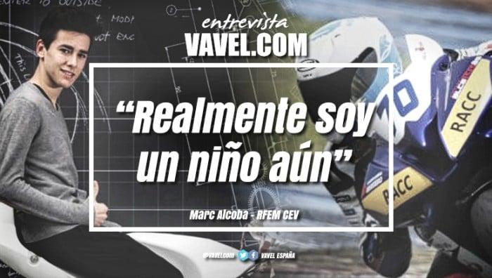 "Entrevista a Marc Alcoba: ""Realmente soy un niño aún"""