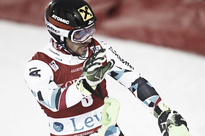 Alpine Skiing: Hirscher in demonstration in Levi